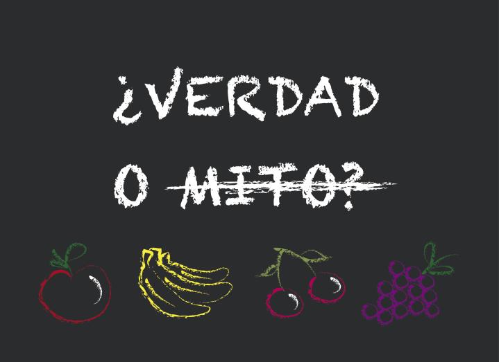 Nutri. los mitos de la fruta
